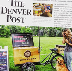 Smart Cookie Dog Treats in the Denver Post newspaper