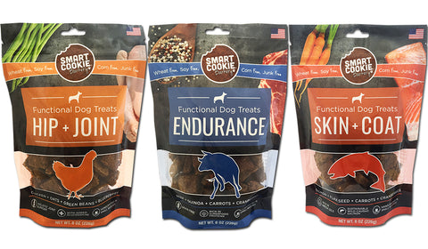Smart Cookie Functional Treats for Joints, Skin and Endurance