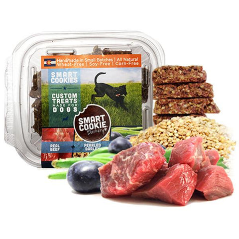 Beef + Barley + Blueberry & Green Bean Treats for Dogs