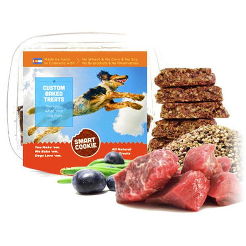 Beef + Quinoa + Blueberry & Green Bean Treats for Dogs
