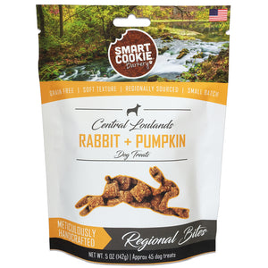 Smart Cookie Rabbit and Pumpkin Soft and Chewy Treats Front