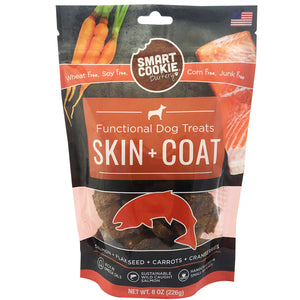 Smart Cookie Skin and Coat Functional Treats Front