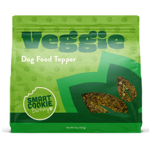 Smart Cookie Veggie Dog Food Topper Front