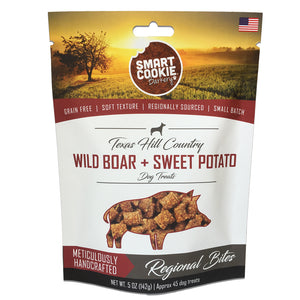 Smart Cookie Wild Boar and Sweet Potato Treats Front