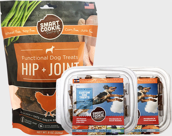 Variety Pack of Joint Support Treats for Dogs