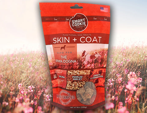 The Prima Dogna: Skin + Coat Dog Treats