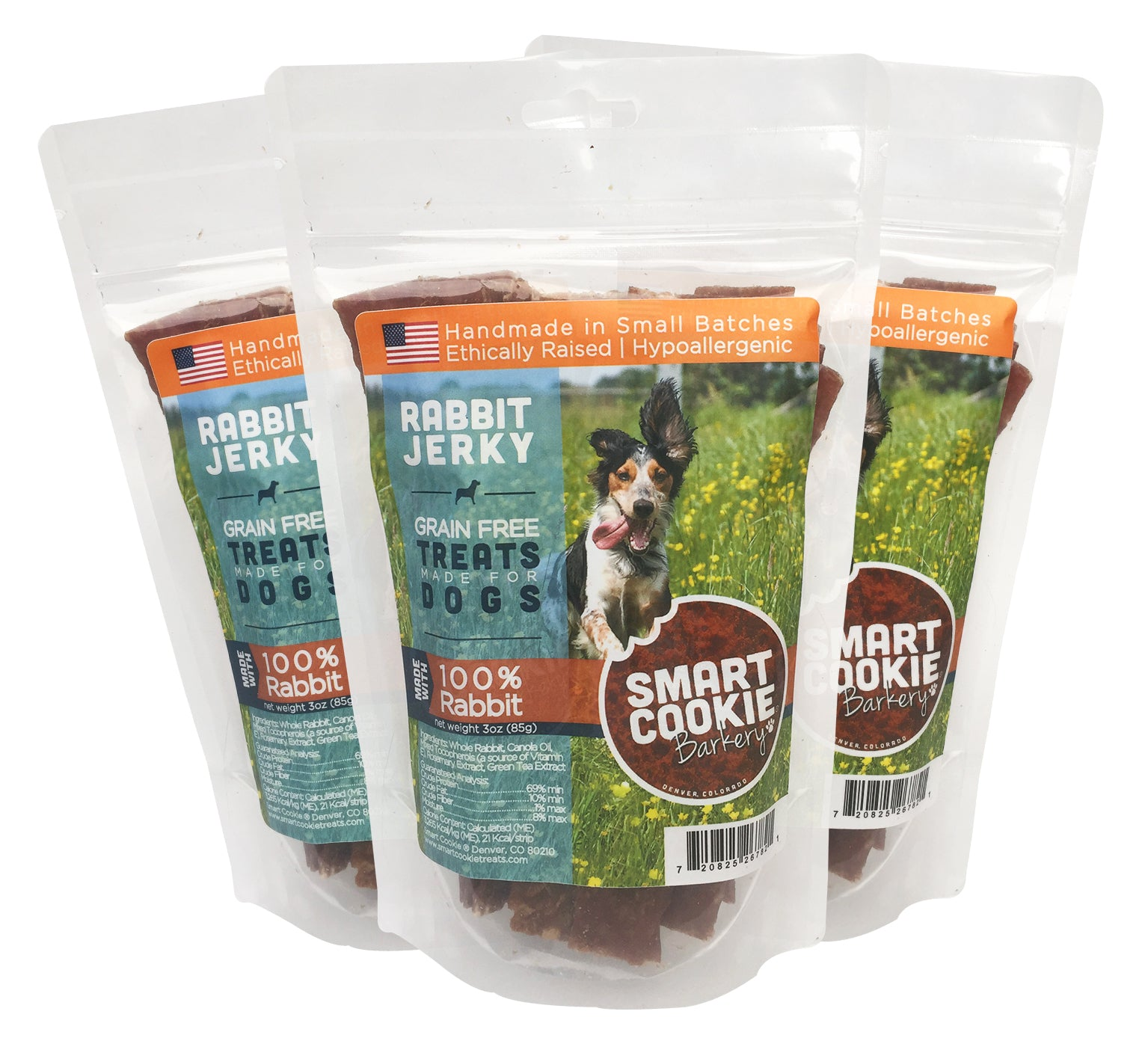 Rabbit Jerky Dog Treats