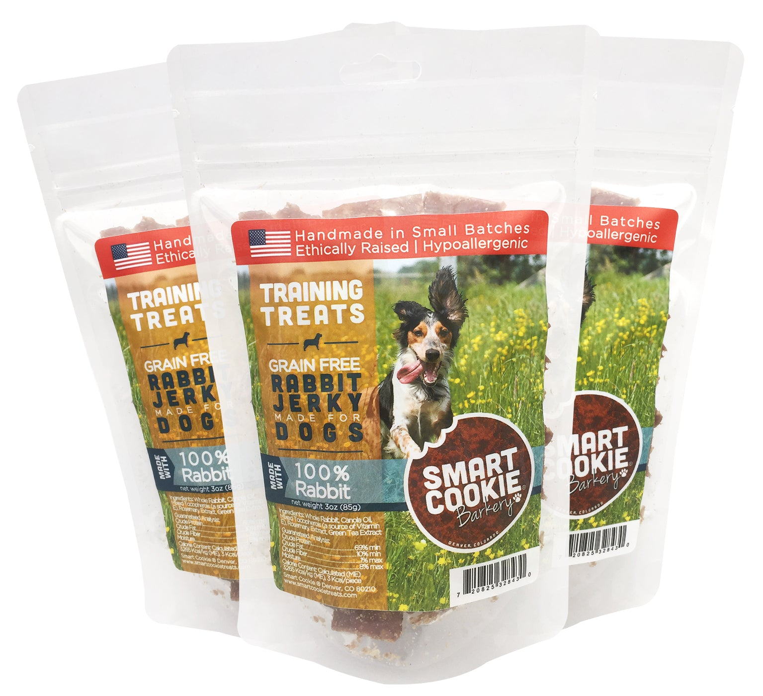 Rabbit Jerky Training Treats for Dogs