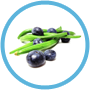 Vegetable/Fruit - Blueberry/Green Beans