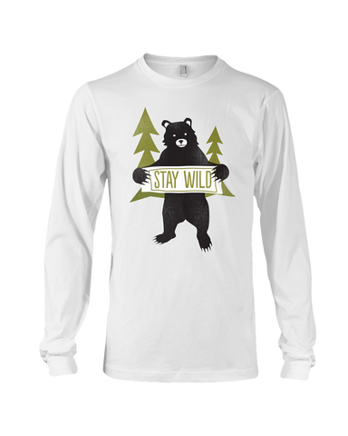Men's Stay Wild Long Sleeve