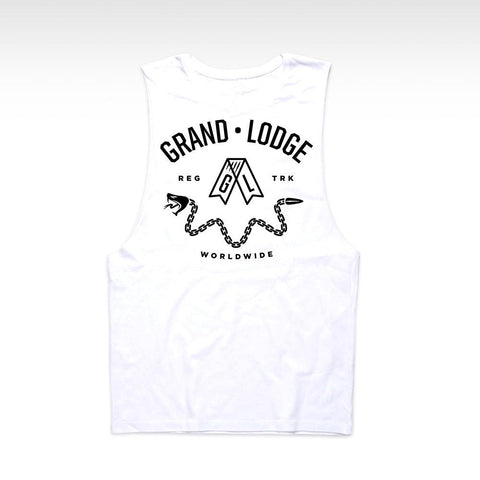 Grand Lodge Dice Tank - White