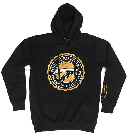 The 404 Brand Deals Hood - Black