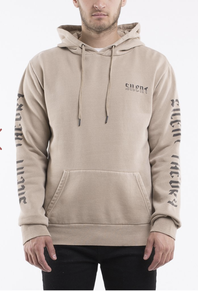SILENT THEORY - FORNIA HOODY, Tan