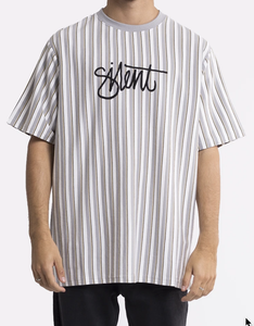 SILENT THEORY - PARALLEL STRIPE TEE
