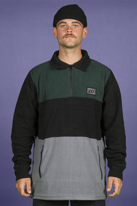 FYVE - Olive Blk Grey - Poly Fleece