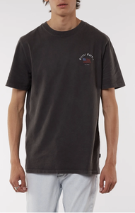 Flagged Tee, Coal
