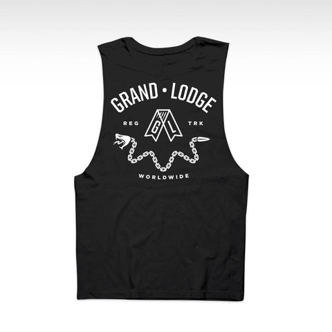 Grand Lodge United Snakes Tank - Black