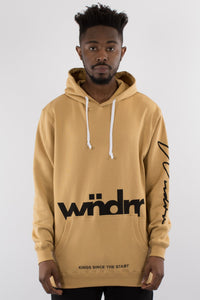 Wndrr - Assassin hood sweat - Tan