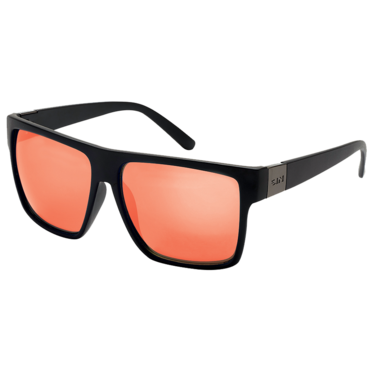 Vespa - Matt raven // Red flash Polarised