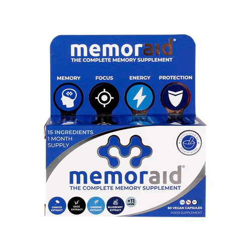 Memoraid® - 15 brain foods in ONE capsule