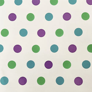 Teal, Green, Purple Ditty Dot