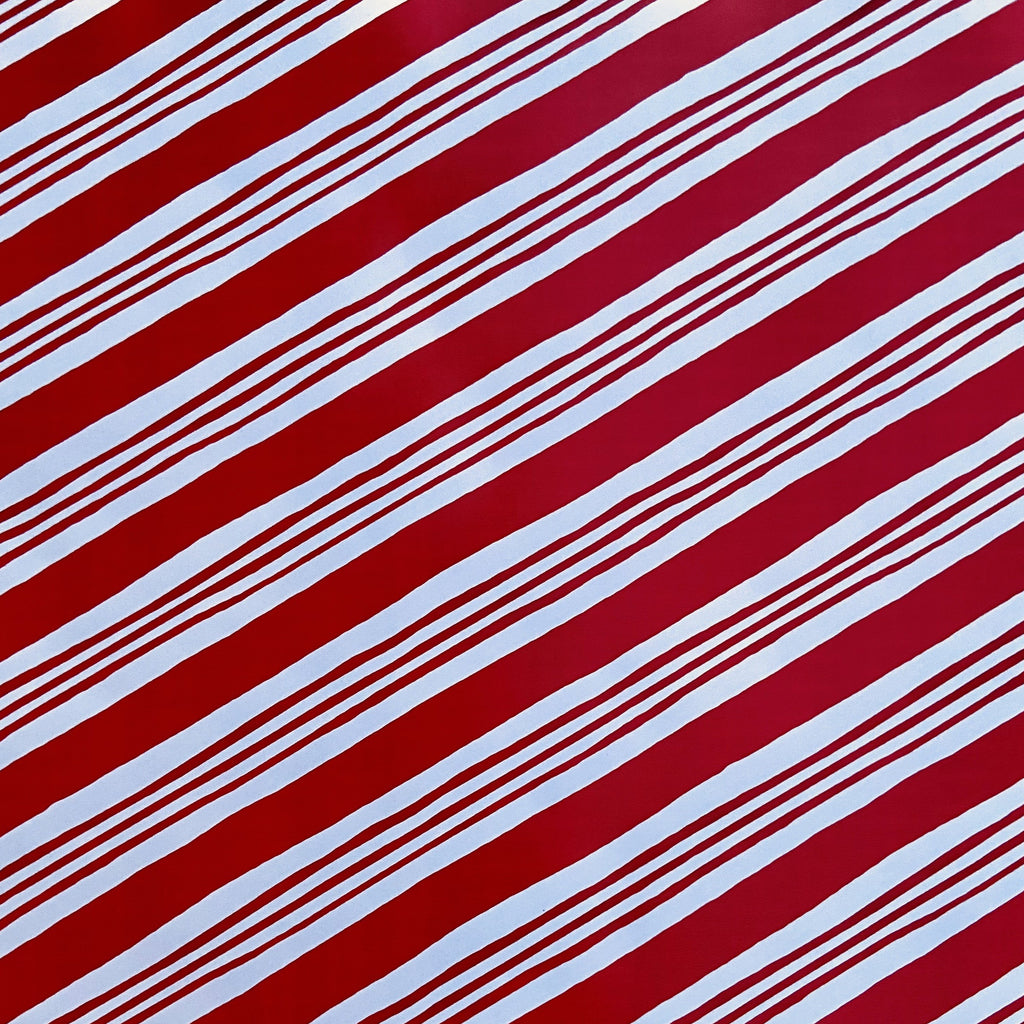 Diagonal Red Stripe