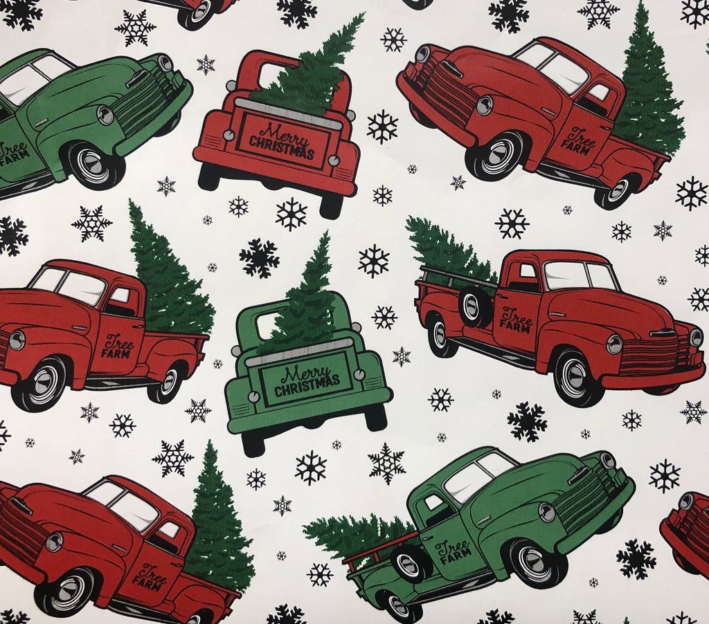 Trucks (Available on Kraft background or a white claycoat background)