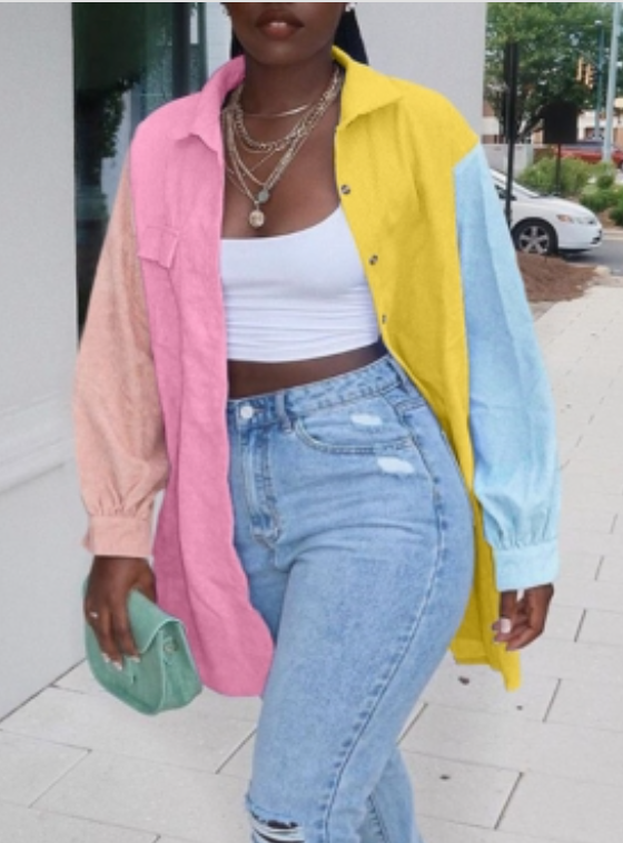 Clearance Pastel Jacket