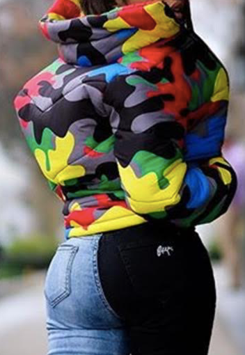 Clearance Multicolor Jacket