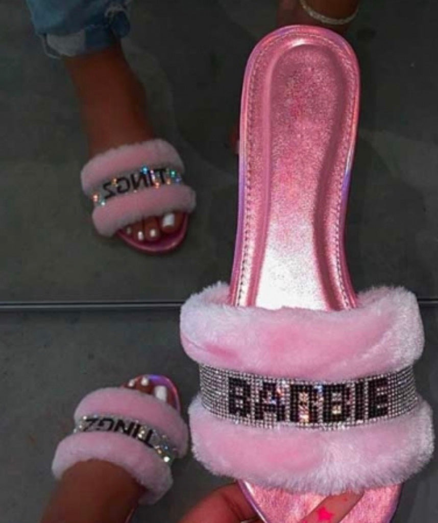 Clearance Barbz Tingz Slides
