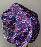 Red & Blue GG Bonnet