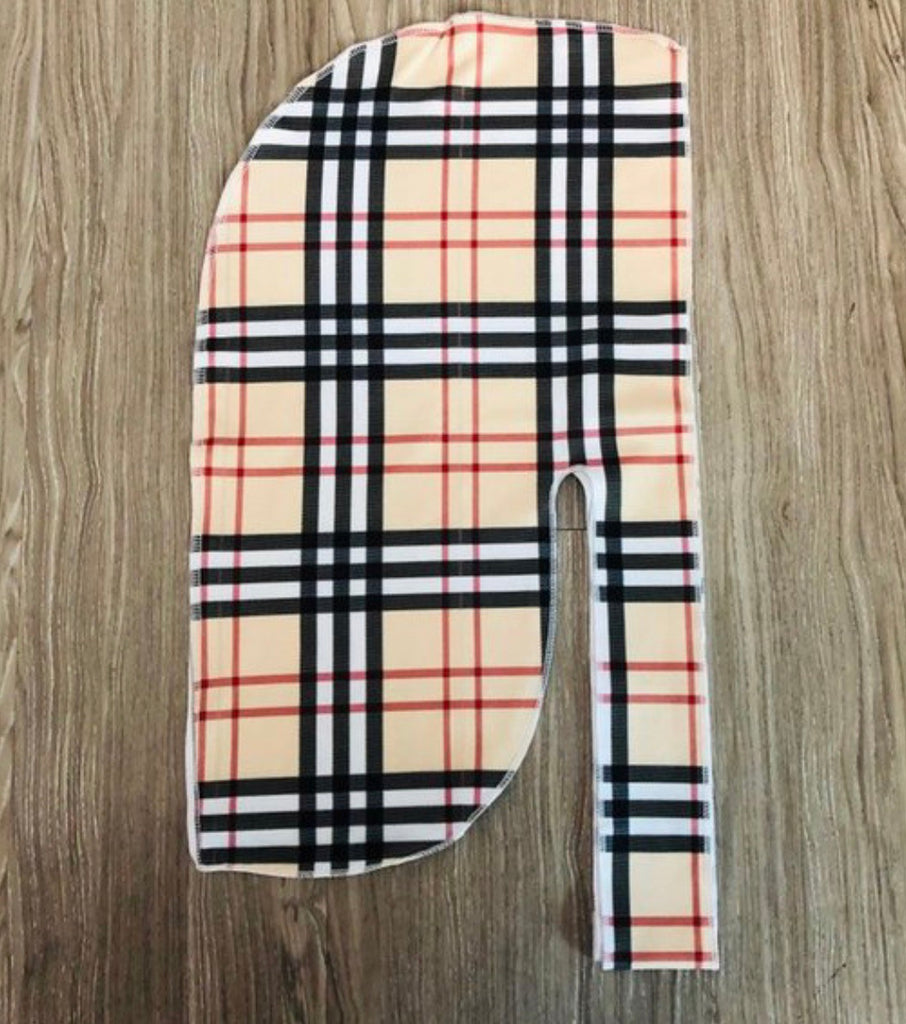 Berry Plaid Durag
