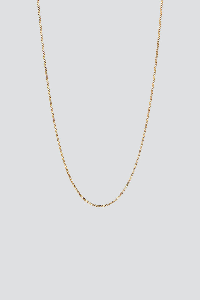 Gold Vermeil Cuban Chain Necklace