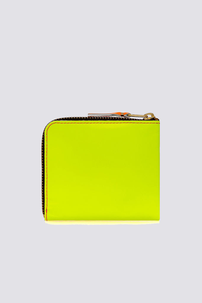 Super Fluo Half Zip Wallet - Pink/Yellow SA-3100SF