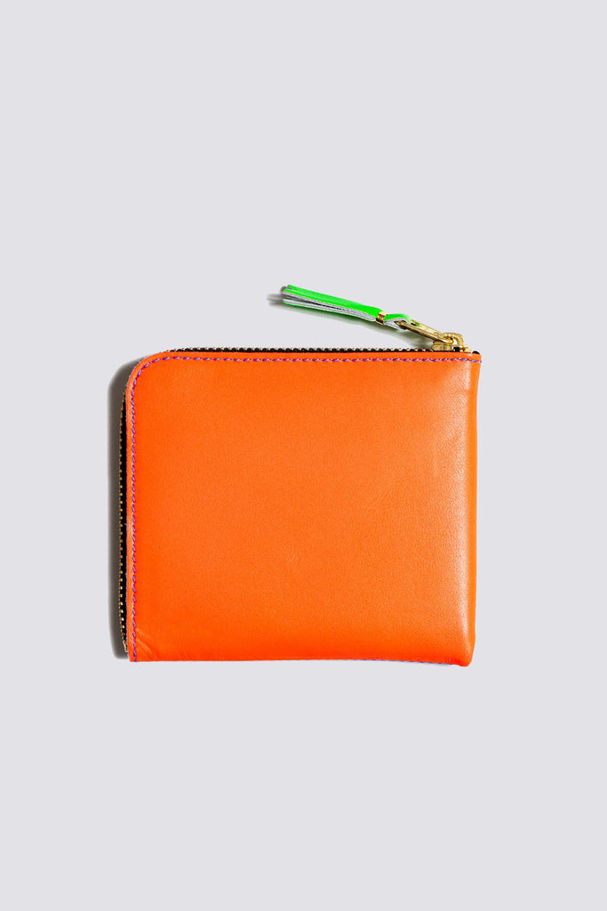 Super Fluo Half Zip Wallet - Blue/Orange SA-3100SF
