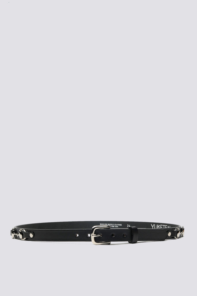Leather Plain Bit Belt