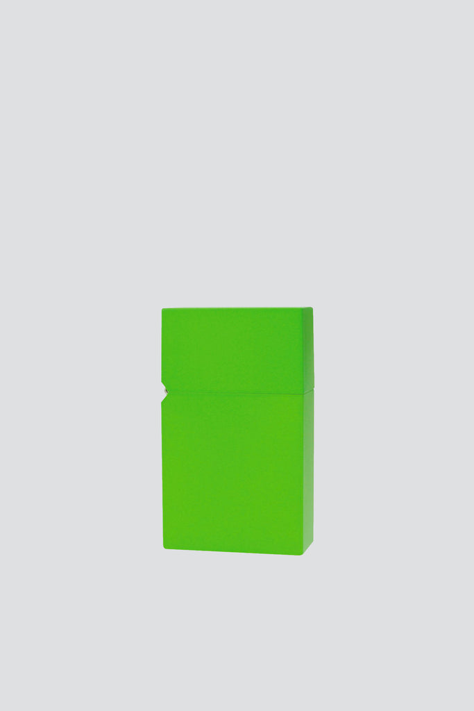 Light Green Hard-Edge Petrol Lighter