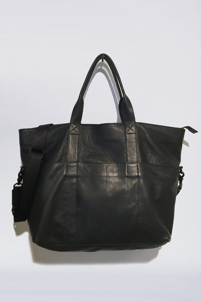Assembly Leather Travel Tote