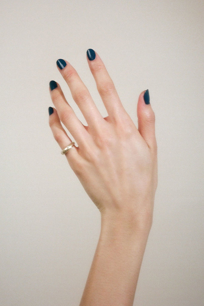 Blue Nudes Nail Polish