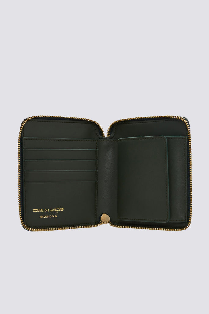 Leather Wallet - Bottle Green - SA2100