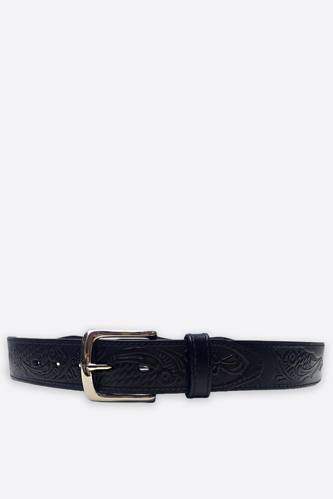Leather Coin Belt