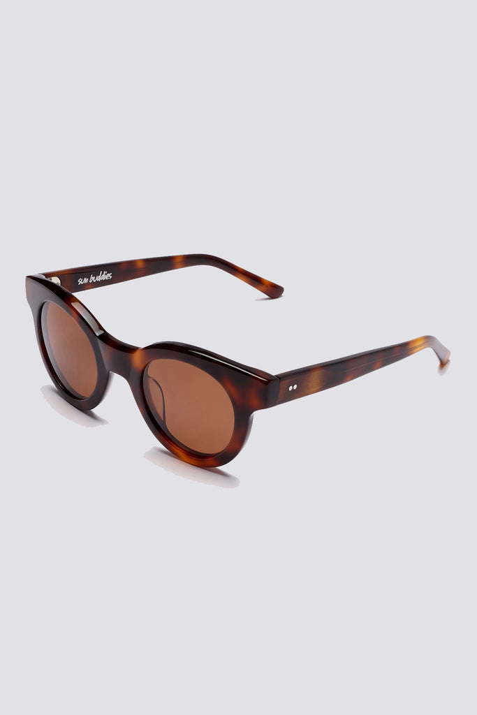 Acetate Edie - Brown Tortoise