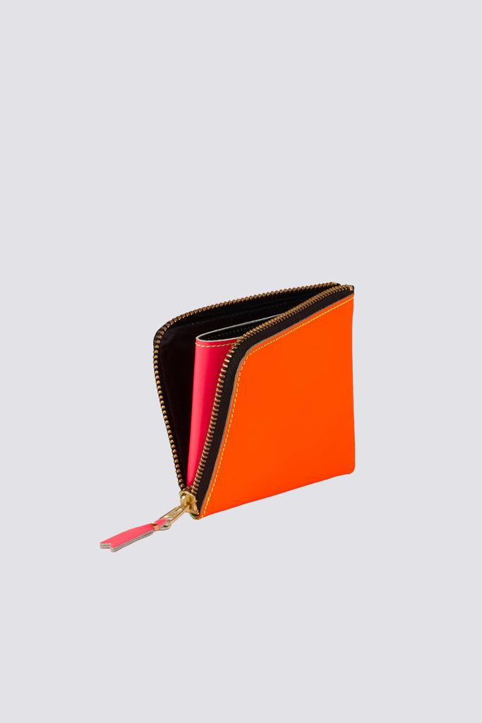 Super Fluo Half Zip Wallet - Yellow/Orange SA-3100SF