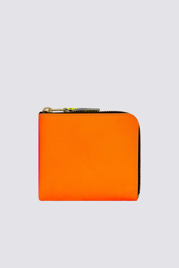 Super Fluo Half Zip Wallet - Orange/Pink SA-3100SF