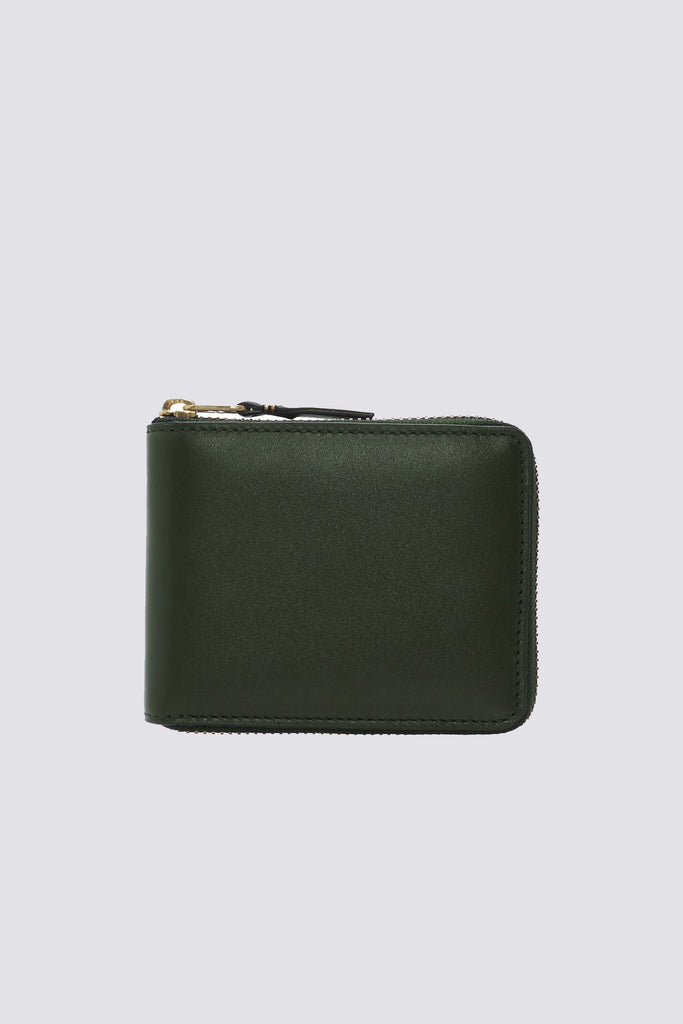 Leather Wallet - Bottle Green - SA7100