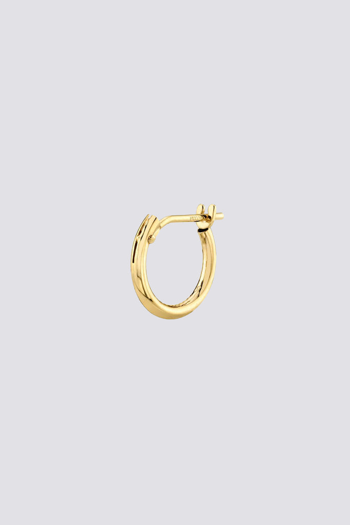 14K Small Hoop with Hinge