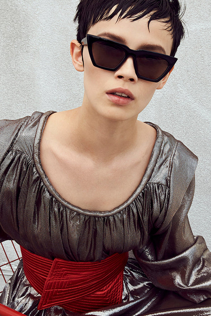 Acetate Modan Sunglasses - Station + Ash