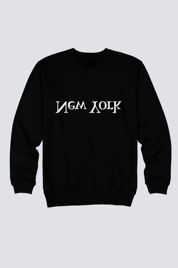 Black New York Logo Sweatshirt