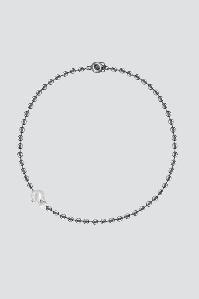 Perlita Necklace - One Pearl