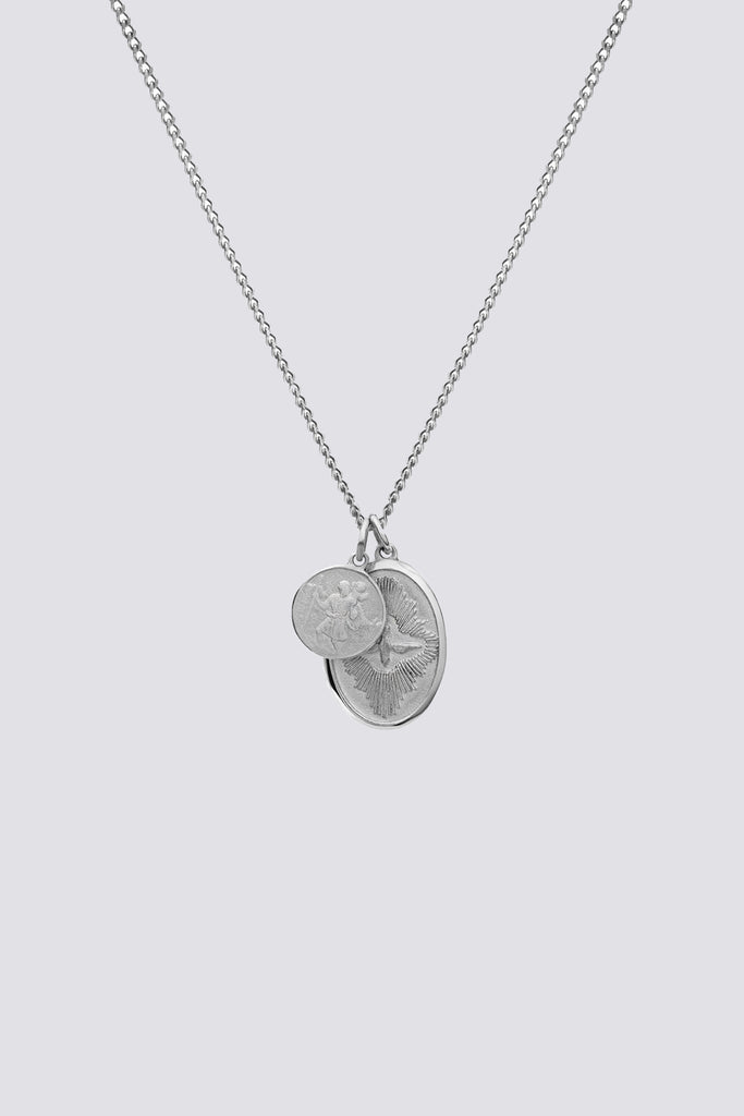 Sterling Silver Mini Dove Pendant